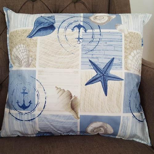 outdoor kissen maritim blau wei mit liebe dekoriert. Black Bedroom Furniture Sets. Home Design Ideas