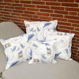 Kissenhülle Lavendel für den Wohnbereich