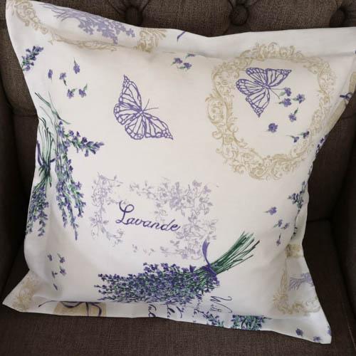 Kissenhülle Lavendel