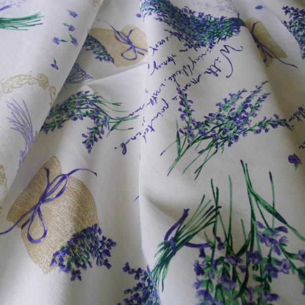 Kissenhülle Lavendel Stoff