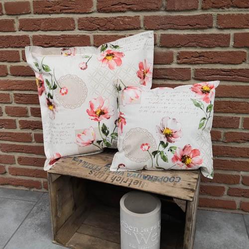 Blumen Draußen - Romantik mehrere Kissen
