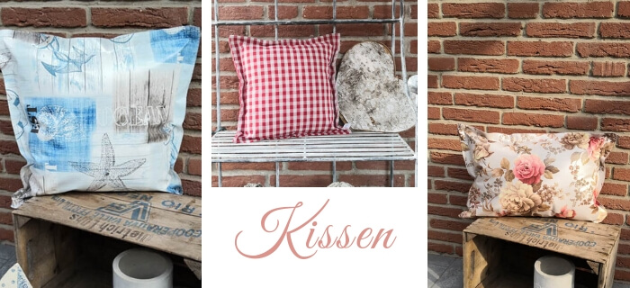 Kissen Mit Liebe dekoriert