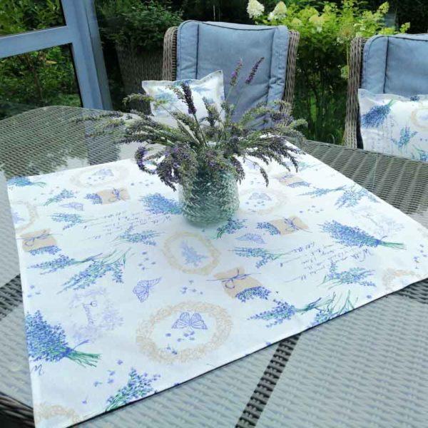 Mitteldecke Lavendel – Schöne Sommer Tischdeko