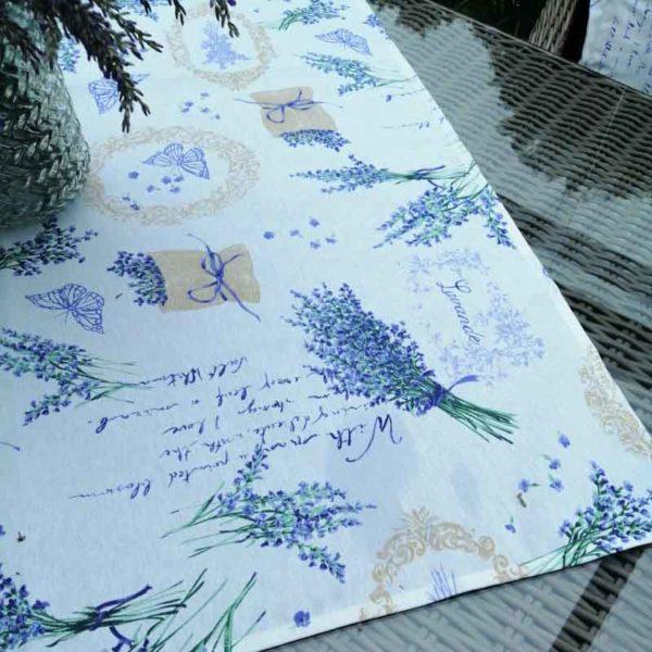 Mitteldecke Lavendel für draußen