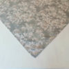 Mitteldecke Rosen in Leinenoptik - Farbe grau
