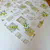 Mitteldecke grün mit schönem Oliven Motiv - mediterran