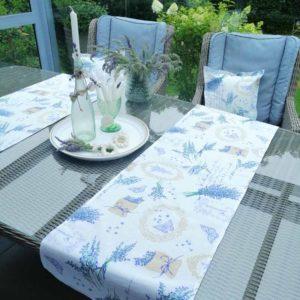 Tischläufer Lavendel – mediterraner Flair 40×140