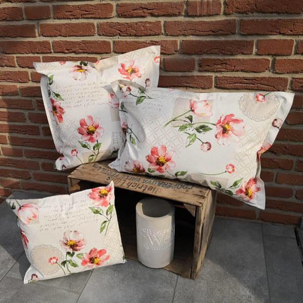 Loungekissen Blumen