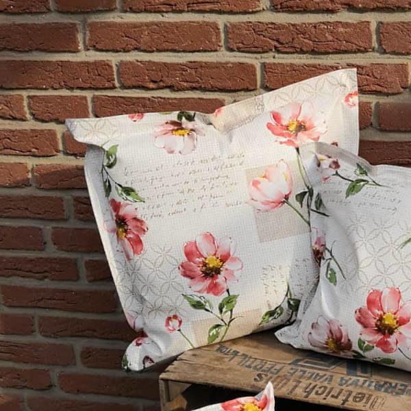 Loungekissen Blumen für draußen 50x50cm