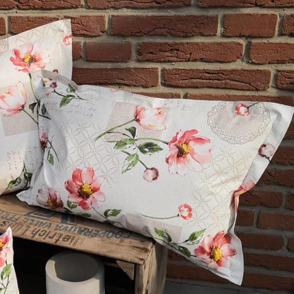 Loungekissen Blumen für draußen 40x60cm