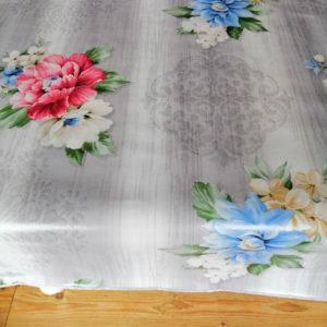 Blumenbouquet Tischdecke mit Fleckschutz