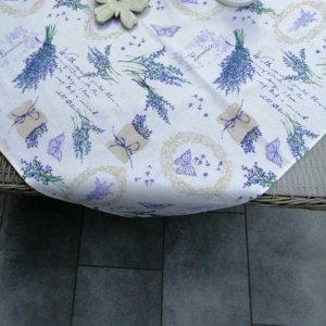 Tischdecke Lavendel im mediterranen Flair