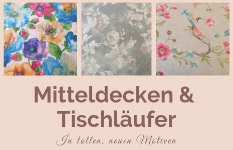 Highlights Mitteldecken & Tischläufer