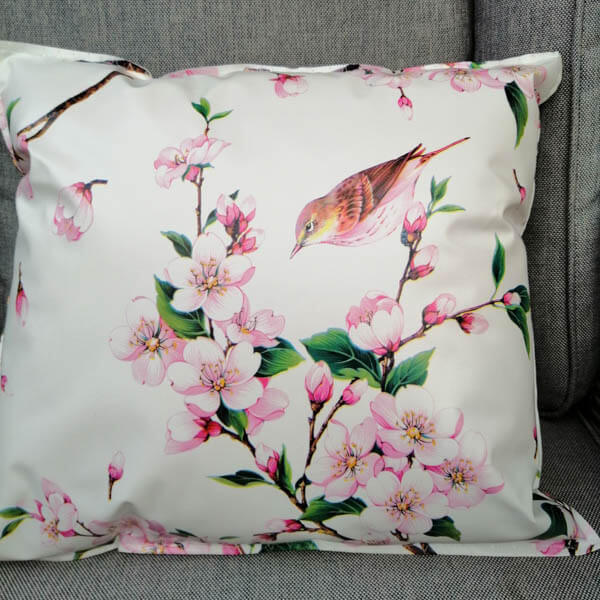 Outdoorkissen Kirschblüte klein