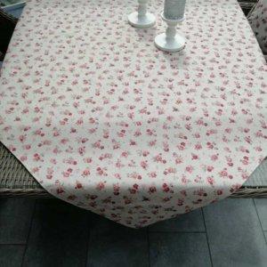 Outdoor Tischdecken Rosa Rosen (beschichtet)