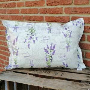 Wachstuchkissen Outdoor Kissen Lavendel Wachstuchkissen Outdoor Kissen Lavendel 40x60cm
