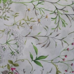 Wiesenblumen Mitteldecke - Beschichtete Baumwolle