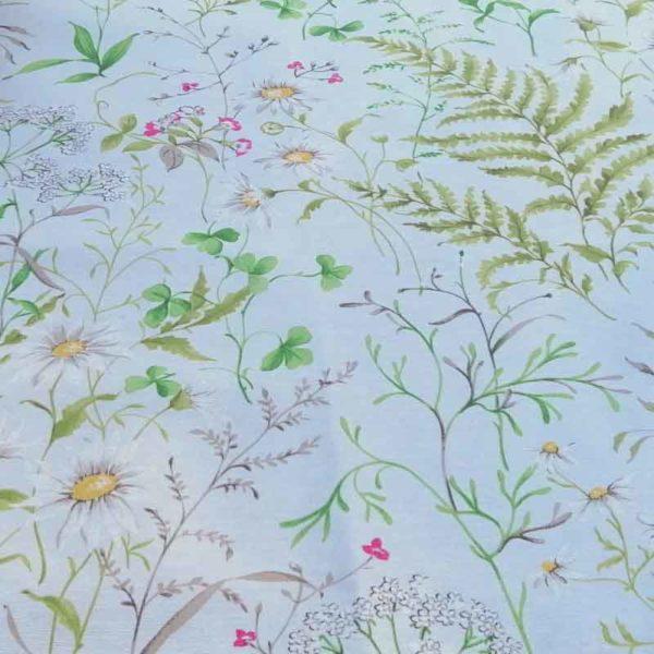Wiesenblumen Muster - Beschichtete Baumwolle