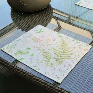 Platzdeckchen Wiesenblumen (beschichtet)