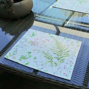 Wiesenblumen Platzsets - für den Gartentisch