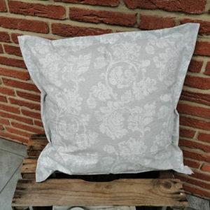 Garten Lounge Kissen Blätterranken (beschichtet) 60x60cm