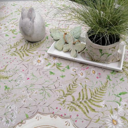 Tischdecken Outdoor Wiesenblumen (beschichtet) im Wintergarten