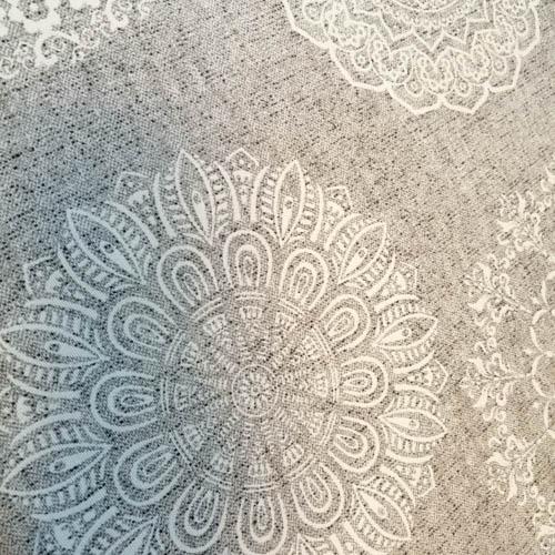 Tischläufer Mandala Muster aus Baumwollmischung Motiv