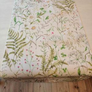 Tischläufer Gräser und Blumen aus Baumwolle