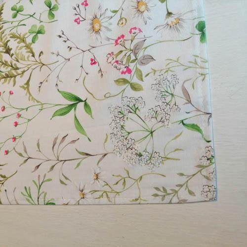 Tischläufer Outdoor Wiesenblumen (beschichtet) Ecke