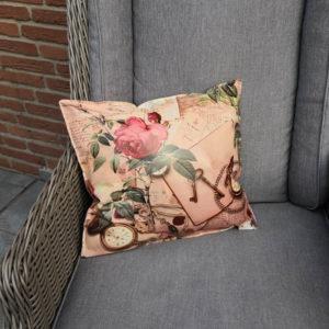 Wachstuchkissen Rosen Nostalgie_Shop 35x38cm