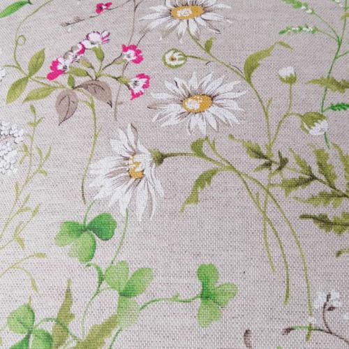 Wiesenblumen Meterware Beschichtete Baumwolle