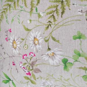 Wiesenblumen Meterware Beschichtete Baumwolle Stoffe