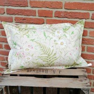 Bodenkissen Outdoor mit Wiesenblümchen 40x60cm