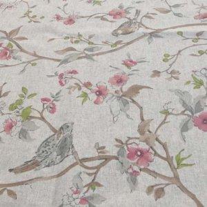 Tischdecke Vogel aus beschichteter Baumwolle