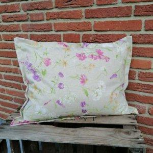 Outdoor Kissenhülle - Blumen auf der Wiese 40x60cm