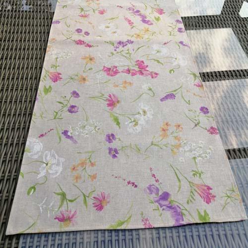 Tischläufer Blumen auf der Wiese 40 x 140cm