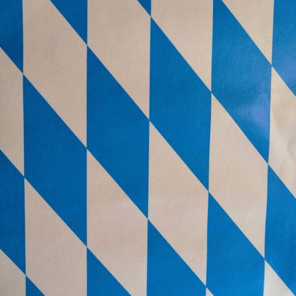 Wachstuch Tischdecke Ornamente & Muster - Bayerische Raute