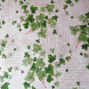 Wachstuch Tischdecke Blätter - Efeu