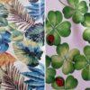 Wachstuch Tischdecke Blätter