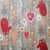 Wachstuch Tischdecke Winter & Weihnachten - Lebkuchen