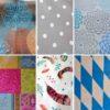 Wachstuch Tischdecke Ornamente & Muster