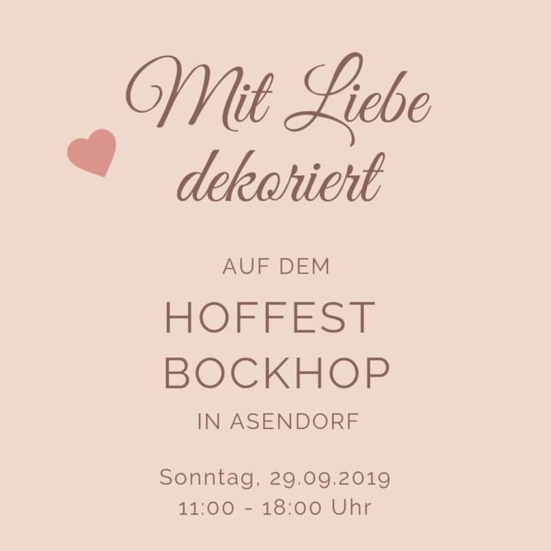 Kissen beim Hoffest Bockhop in Asendorf