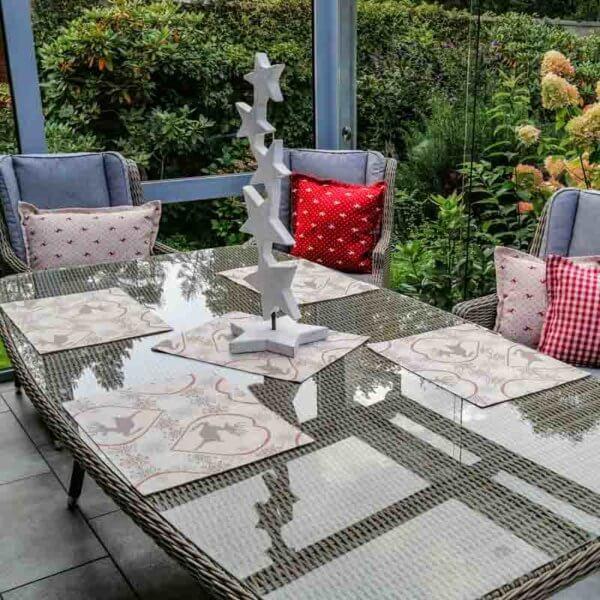 Tischset Hirsch aus beschichteter Baumwolle 30x40cm
