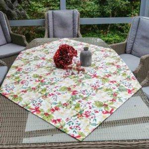 Tischdecke Christrose (beschichtete Baumwolle)