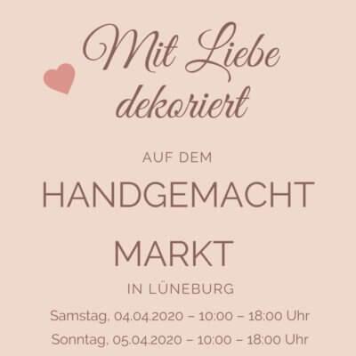 Handgemacht Markt (Lüneburg) mit Outdoorkissen