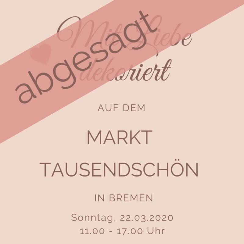 Tausendschön in Bremen Mit Liebe dekoriert