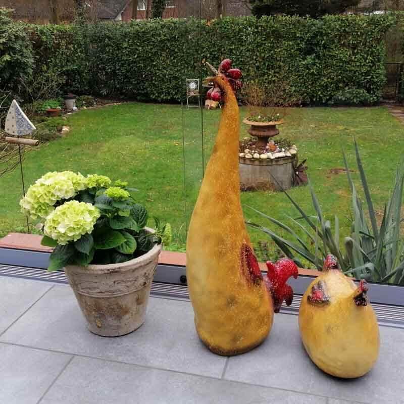 Osterdeko für den Garten