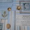 Mitteldecke Maritim Shabby aus Wachstuch für Garten und Balkon - versch. Größen