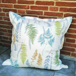 Outdoor Kissenbezug Farne – Beschichtete Baumwolle 80x80cm
