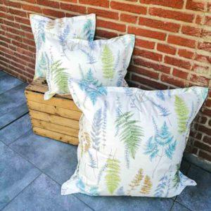 Outdoor Kissenbezug Farne – Beschichtete Baumwolle in verschiedenen Größen